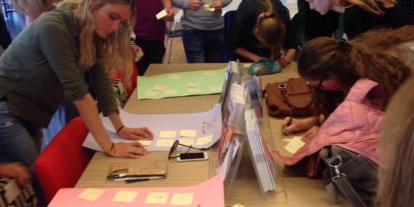 De leerlingen geven hun mening over het project