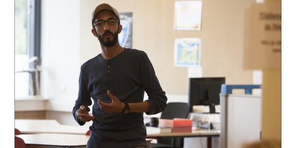 Ayham Alwaa vertelt over het leven van een Syrische vluchteling